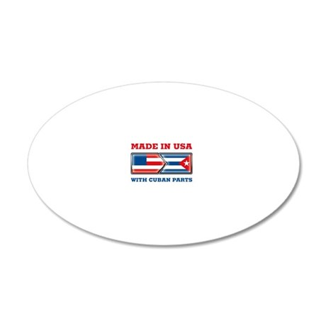 Made_In_USA_WCP_Light 20x12 Oval Wall Decal
