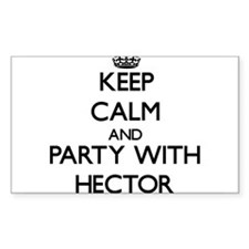 Keep Calm and Party with Hector Decal