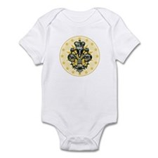 Saint Icon Fleur medallion Infant Bodysuit