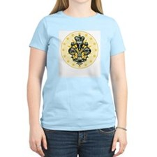 Saint Icon Fleur medallion Women's Pink T-Shirt