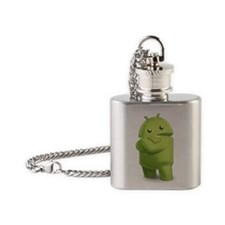 Android Central Logo Flask Necklace