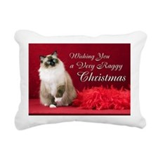 Maddie Christmas Card Rectangular Canvas Pillow