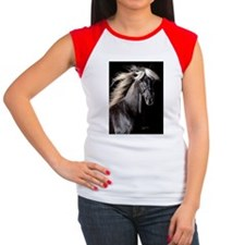 choco_horse_panel Tee