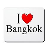 """I Love Bangkok"" Mousepad"