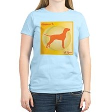 Vizsla Happiness Women's Pink T-Shirt