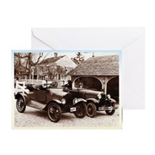 VintageAuto Greeting Card