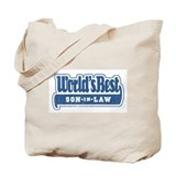 """World's Best Son-in-Law"" Tote Bag"