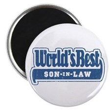 """World's Best Son-in-Law"" Magnet"