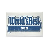 """World's Best Son"" Rectangle Magnet"
