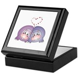 Hippo Love Keepsake Box