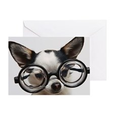 CHI Glasses L print Greeting Card