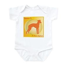 Greyhound Happiness Infant Bodysuit