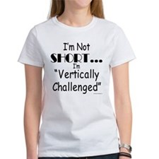 Vertically Challenged Tee