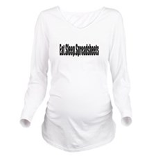 Music Long Sleeve Maternity T-Shirt