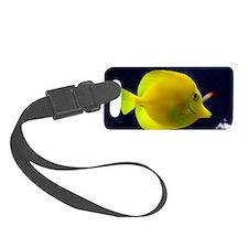 yellow_tang_mini Luggage Tag