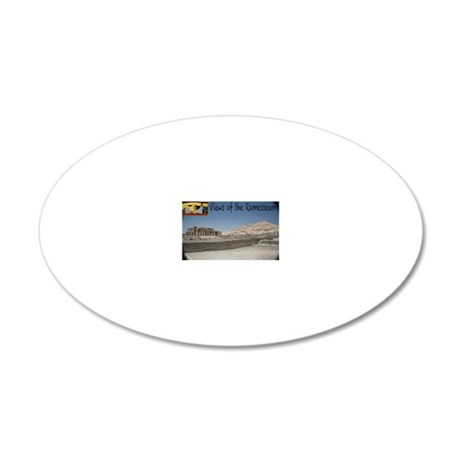 Ram_cover 20x12 Oval Wall Decal