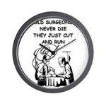 DOCTOR gifts t-shirts Wall Clock