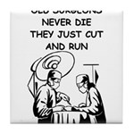 DOCTOR gifts t-shirts Tile Coaster