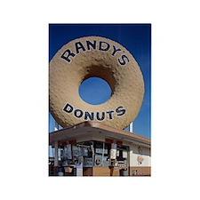 Randys Donuts Los Angeles Califor Rectangle Magnet