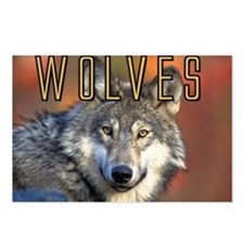 Wolves Wall Calendar Postcards (Package of 8)