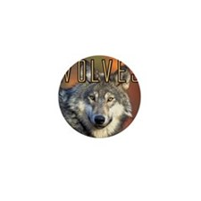 Wolves Wall Calendar Mini Button