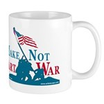 Make Art Not War Mug