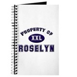 Property of roselyn Journal