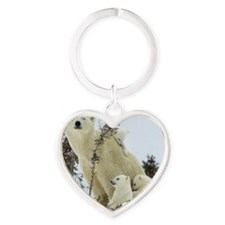 MPB greetings Heart Keychain