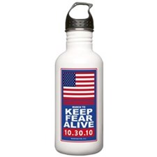 march to keep fear ali Water Bottle