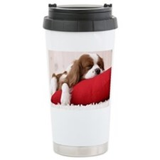 Spaniel post Ceramic Travel Mug