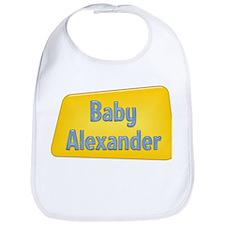 Baby Alexander Bib