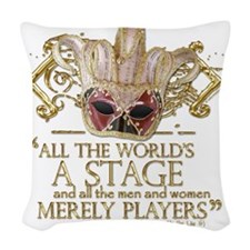 as you like it 2 Woven Throw Pillow