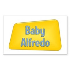 Baby Alfredo Rectangle Decal