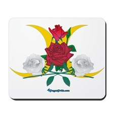 Cresant Moon Rose Mousepad