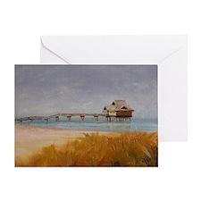 Florida Pier 60 Greeting Card