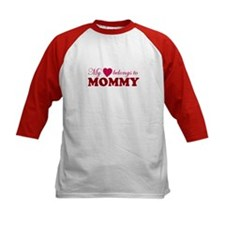 Heart Belongs to Mommy Tee