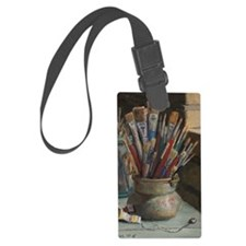 Paint Brushes 3 Luggage Tag