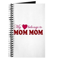 Heart Belongs to Mom mom Journal