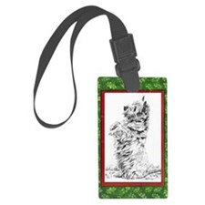 CAIRN XMAS Luggage Tag