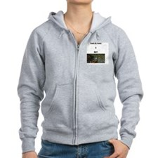 Touch My Cooter Zip Hoodie