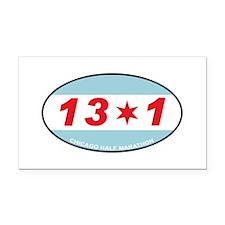 13.1 Rectangle Car Magnet