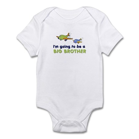 ::: Big Brother Secret Plane ::: Infant Bodysuit