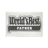 """World's Best Father"" Rectangle Magnet"