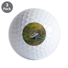 Home Sweet Home Cabin Golf Ball