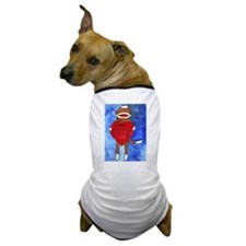 Sock Monkey Valentine by Step Dog T-Shirt