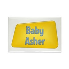 Baby Asher Rectangle Magnet