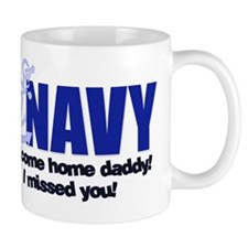 Navy Welcome Home Dad Mug