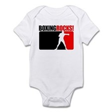 Boxing Rocks! Infant Bodysuit