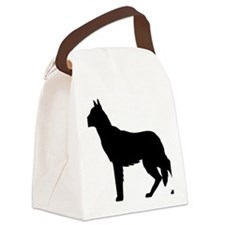 German Shepherd.eps Canvas Lunch Bag