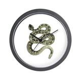 Snake (1) Wall Clock